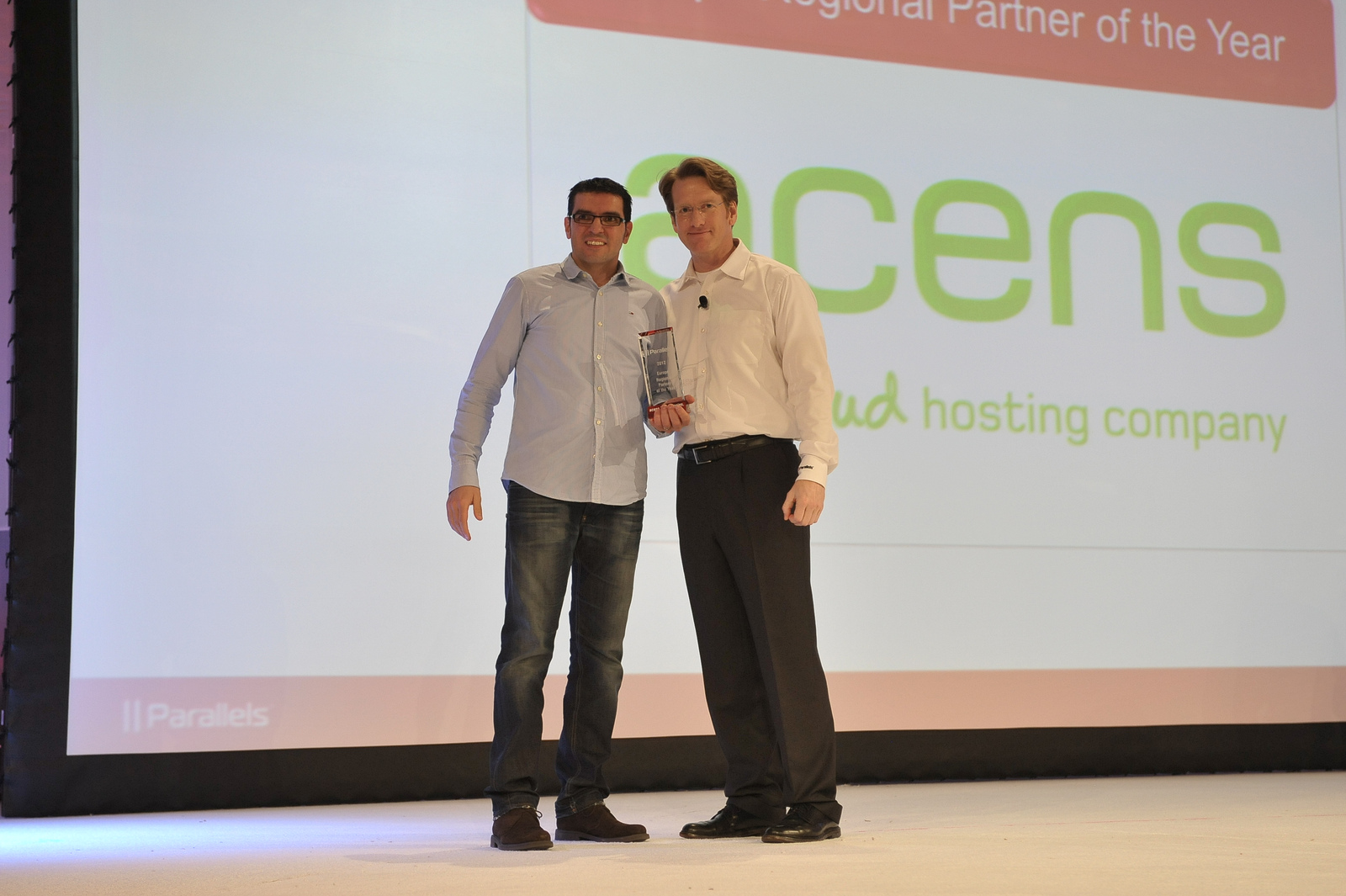 acens european parallels partner award