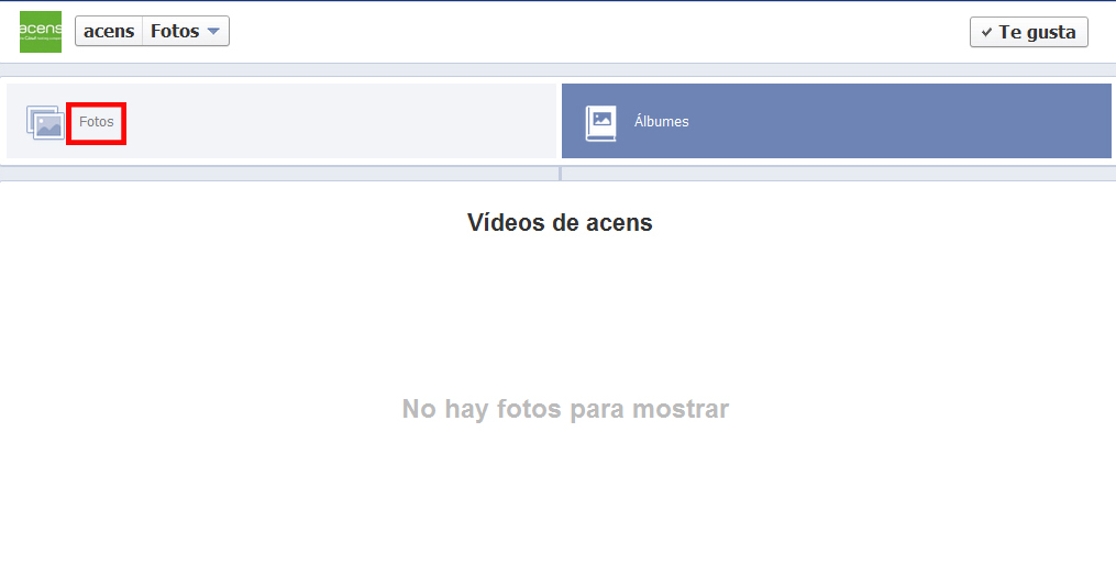album fotos videos facebook - blog acens the cloud hosting company