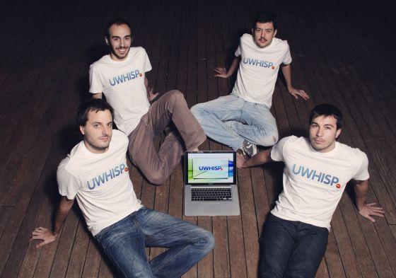 creadores de la aplicacion uWhisp - blog acens the cloud hosting company