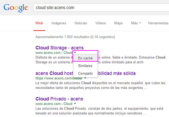 google-cache-blog-acens-cloud