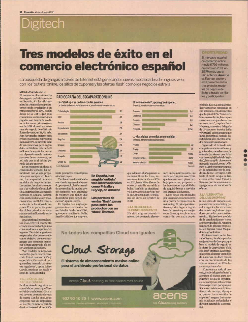 nuevos modelos de negocio - blog acens the cloud hosting company