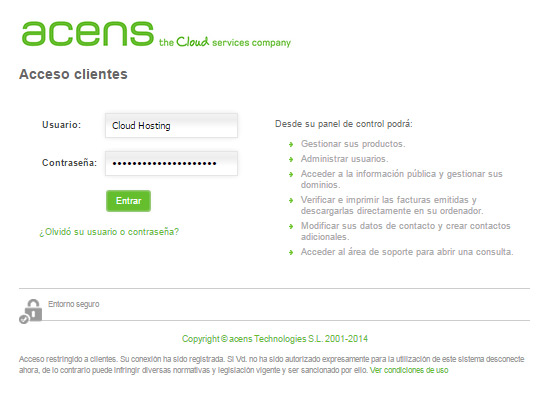 panel-acceso-acens-blog-cloud