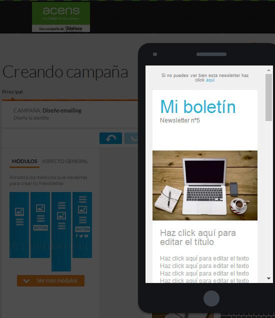 Apps y webs con plantillas para dise ar emailings acens blog - App para disenar ...