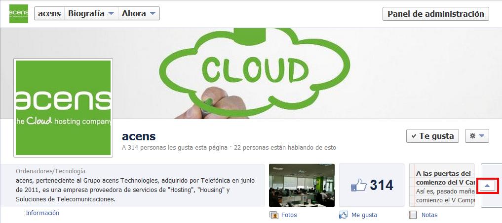 pulsar boton desplegar pestanias - blog acens the cloud hosting company
