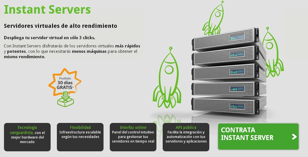 servicio instant servers - blog acens the cloud hosting company