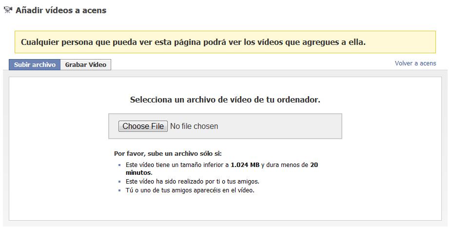 subir video - blog acens the cloud hosting company